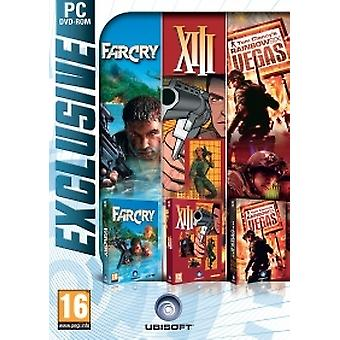 Exclusif FarCry, XIII, Rainbow Six Vegas (PC DVD)