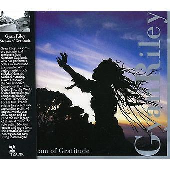 Gyan Riley - Stream van dankbaarheid [CD] USA import