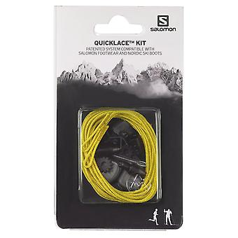 Salomon quick lace Kit quick Cordless system yellow