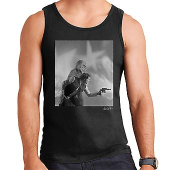Star Wars Behind The Scenes Chewbacca And Han Solo Men's Vest