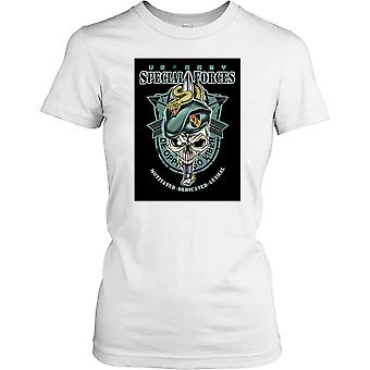 Dam t-shirt DTG tryck - Special Forces - De Oppresso Liber-