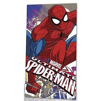 Children's Boys Marvel Ultimate Spiderman Beach, Bath & Swimming Towel