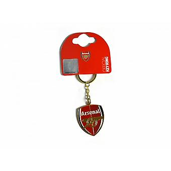 Arsenal FC Official Football Crest Keyring