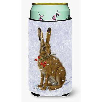 Rabbit Hare & Rosehips Tall Boy Beverage Insulator Hugger