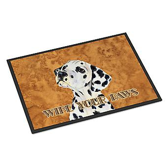 Dalmatian Wipe your Paws Indoor or Outdoor Mat 24x36