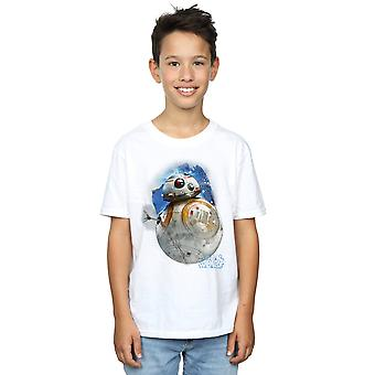 Star Wars Boys The Last Jedi BB-8 Brushed T-Shirt
