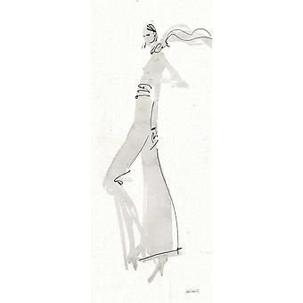 La mode III affiche gris imprimé par Anne Tavoletti