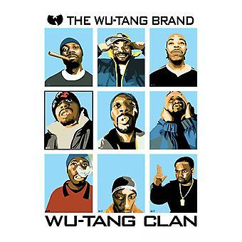 Wu Tang Clan Brand Poster Poster Print