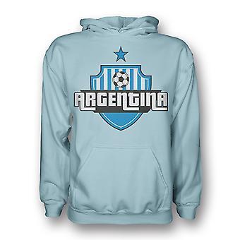 Argentina Country Logo Hoody (sky Blue) - Kids