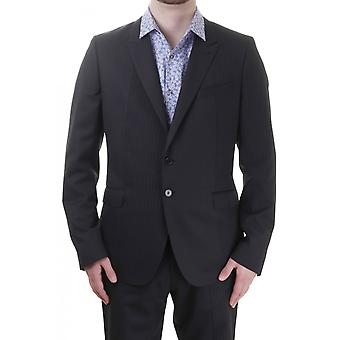 PS Paul Smith Mens Pinstriped Peak Lapel Jacket