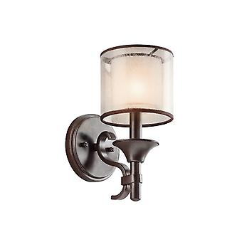 Lacey One Light Wall Light - Elstead Lighting Kl/lacey1 Mb