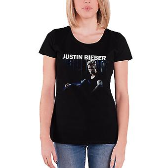 Justin Bieber T Shirt womens purpose Mirror sorry new Official Black skinny fit