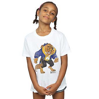 Disney jenter skjønnhet og t-skjorte klassiske dyret dyret