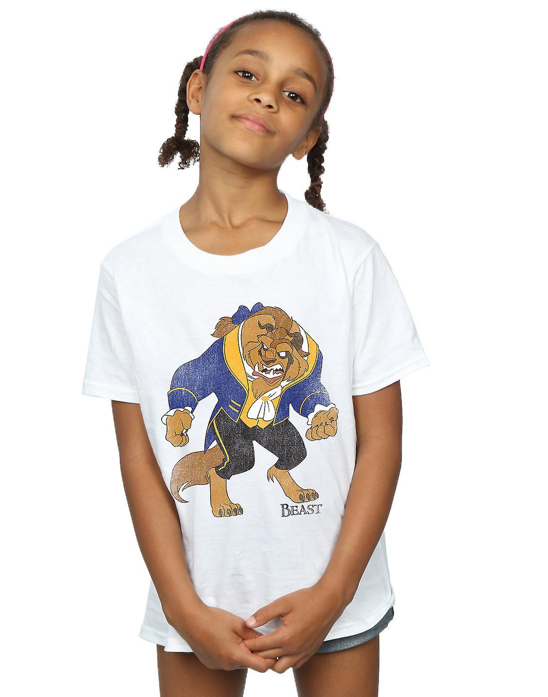 Beauté filles Disney et la bête bête classique T-Shirt
