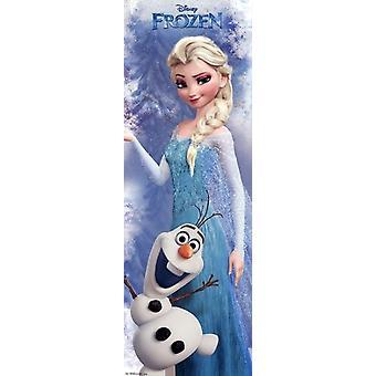 Disney Frozen Elsa - Door Poster Print