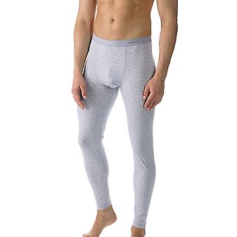 Mey 49042-620 Men's Casual Cotton Grey Solid Colour Ankle Length Leggings