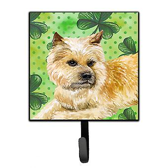 Carolines Treasures  BB9864SH4 Cairn Terrier St Patrick's Leash or Key Holder