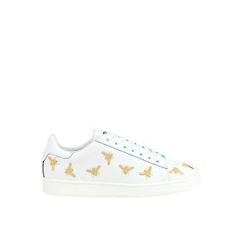 MOA women's MCGLCAK03042E White leather of sneakers