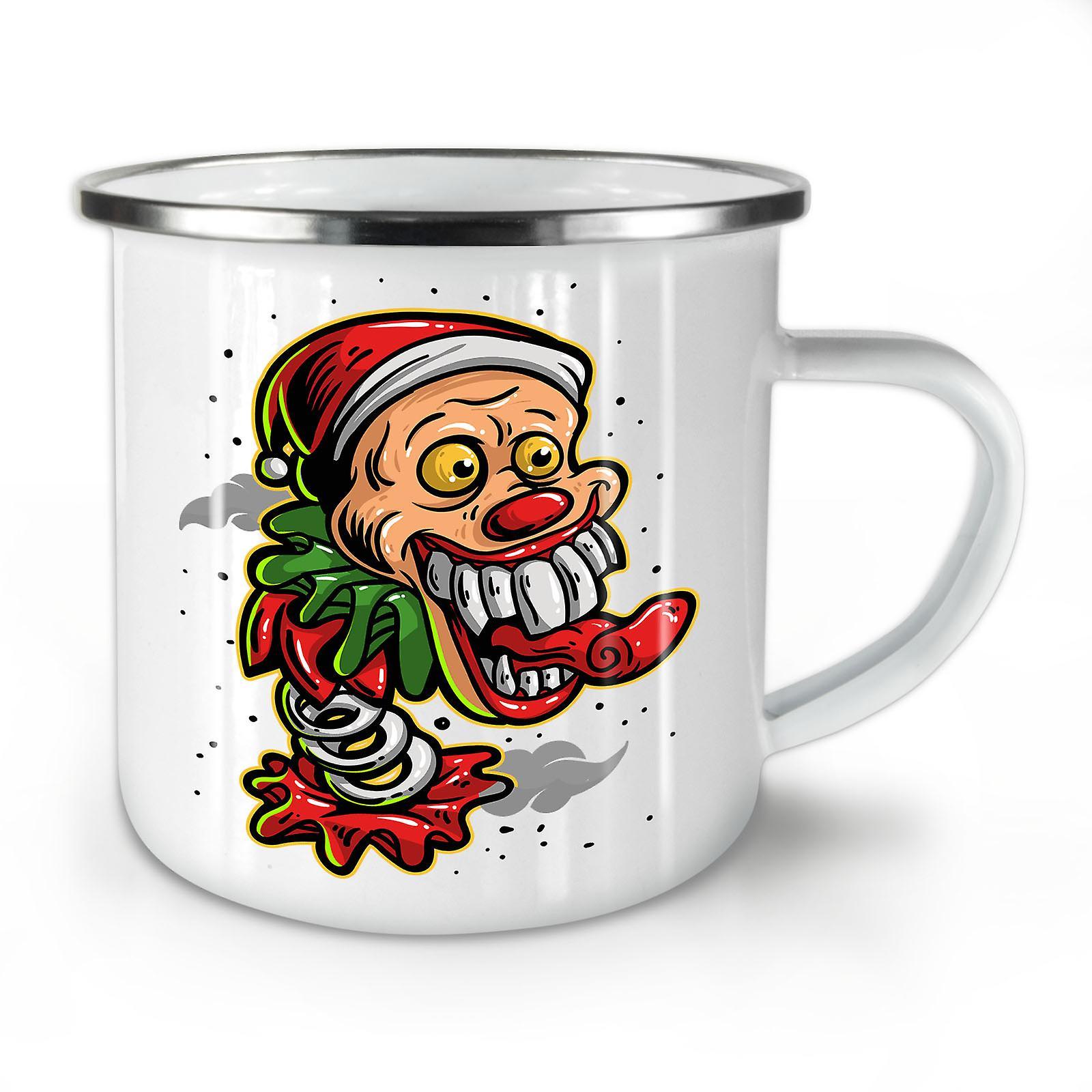 Clown Mug10 Nouveau Whitetea Café Christmas Émail OzWellcoda mwN8n0v