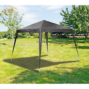 3x3x2.5m Garden Pop Up Gazebo Marquee Canopy Black Tent