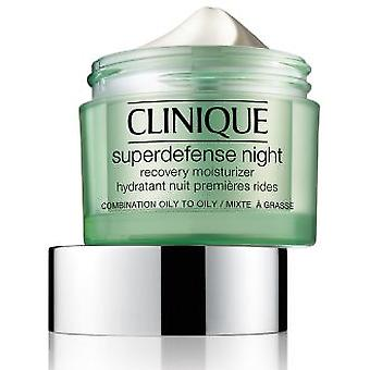 Clinique Superdefense Moisturizing Night Cream Cell Recovery 50 ml