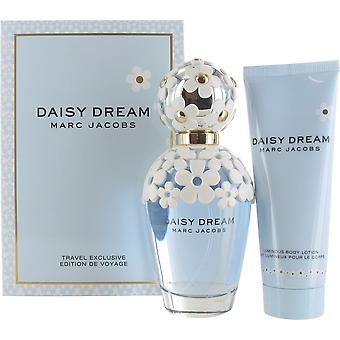 Marc Jacobs Daisy Dream 100ml Eau de Toilette and 75ml Body Lotion Gift Set for Women