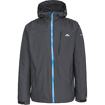 Trespass Mens Hilmanii Hooded Waterproof Windproof Zip Jacket Coat