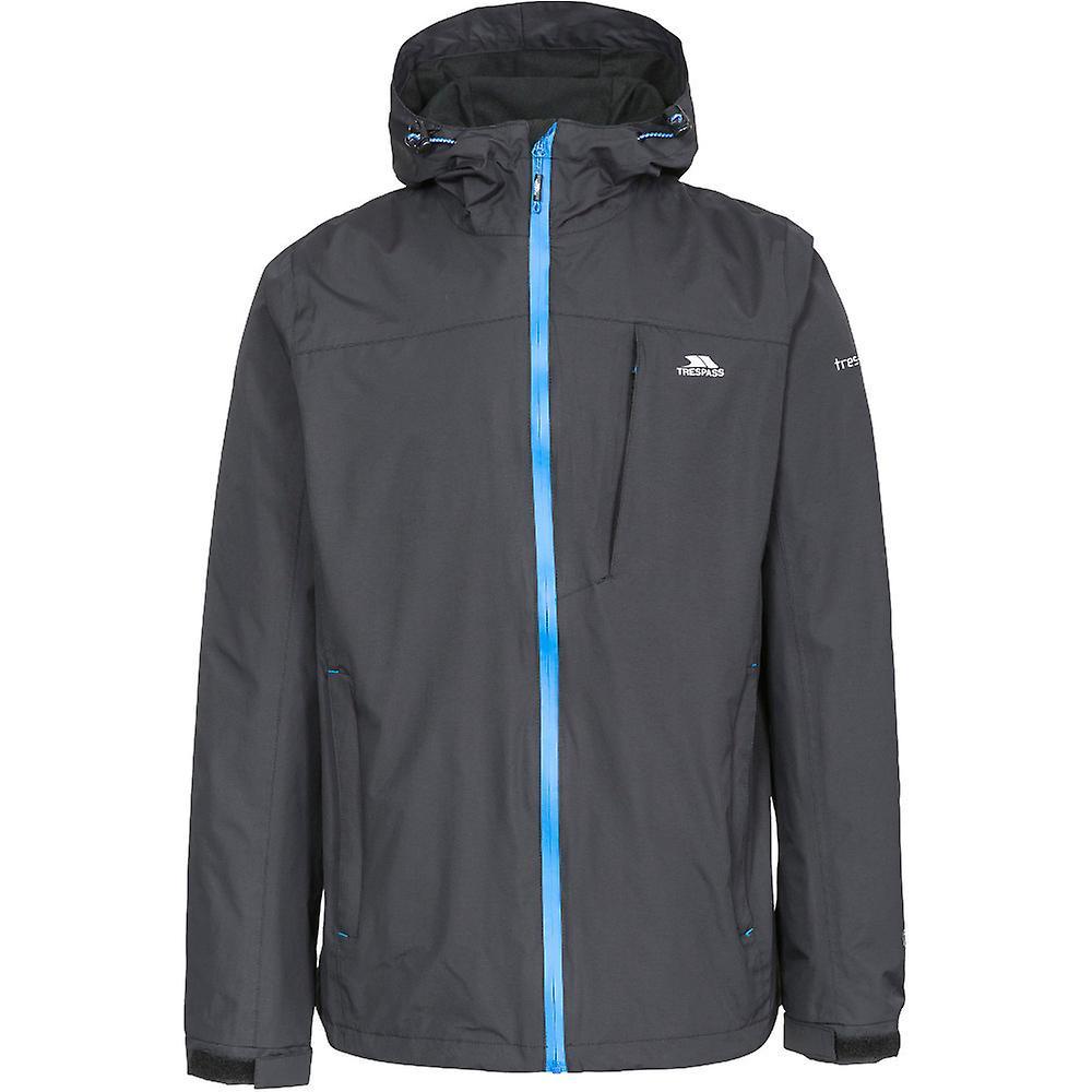 Intrusion Mens Hilhommeii capuche imperméable coupe-vent Zip Jacket Coat