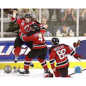 Jason Arnott 2000 Stanley Cup Game Winning Celebration Photo Print