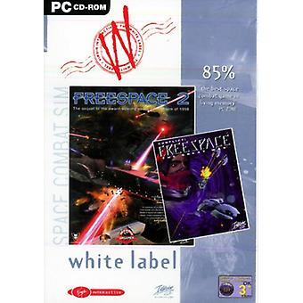 Freespace 1 og 2 - White Label (PC CD)