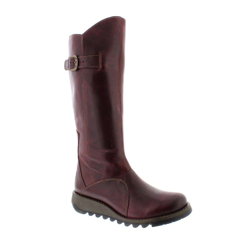 Fly London Mol 2 - Purple Rug (Leather) Womens Boots