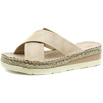 Cipriata Elisa Womens Crossover Mule Sandals