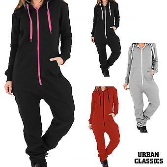 Urban classics ladies sweat jumpsuit