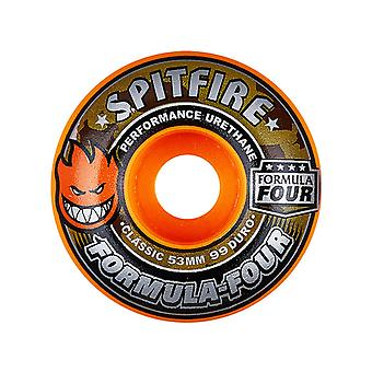 Spitfire Orange Covert Classic 99 Duro Formula Four Limited Edition - 53mm Skate