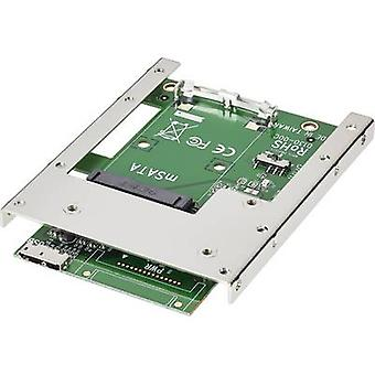 GBIC [1x MiniSATA plug - 2x USB 3.0 port Micro B] Renkforce