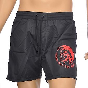 Diesel BMBX Wave E Mohawk Swim Shorts, Black, Small