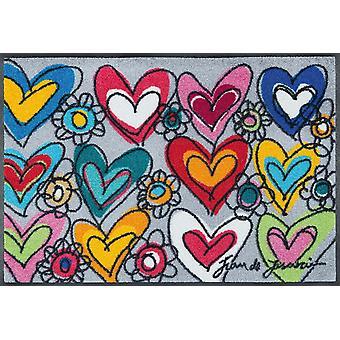 Wash + pavimento asciutto laccato opaco con amore, tutte le cose sono possibili 50 x 75 cm da grande Tappetino lavabile di sogno