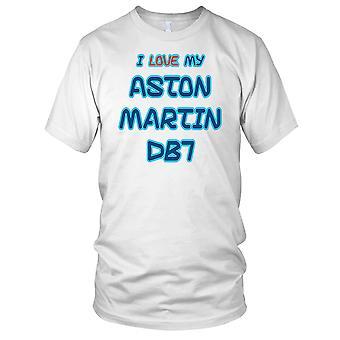 Jeg elsker min Aston Martin DB7 Mens T skjorte