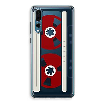 Huawei P20 Pro transparant Case (Soft) - hier is uw tape