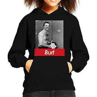 Burt Reynolds Locker Room Kid's Hooded Sweatshirt