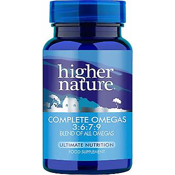 Higher Nature Premium Naturals Omega 3:6:7:9 (formerly Essential Omegas 3:6:7:9), 30 gel caps
