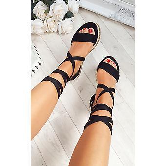 IKRUSH Reeva de mujer Strappy sandalias