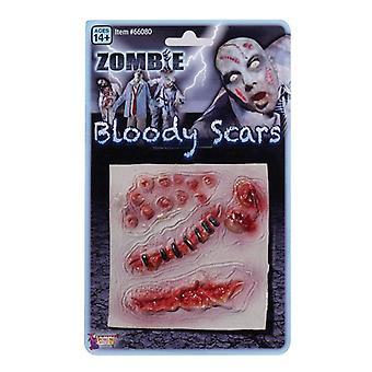 Bnov Zombie blutige Narben