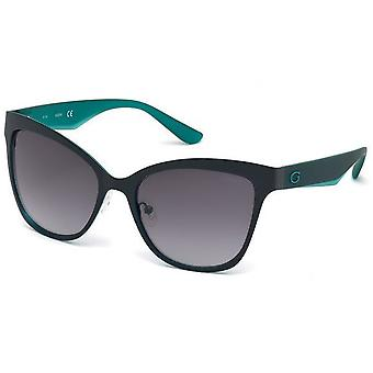 GUESS Butterfly sunglasses ladies grey