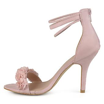 Journee Collection Womens Eloise Open Toe Casual Ankle Strap Sandals
