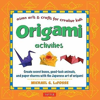 Origami Activities - Create Secret Boxes - Good-Luck Animals - and Pap