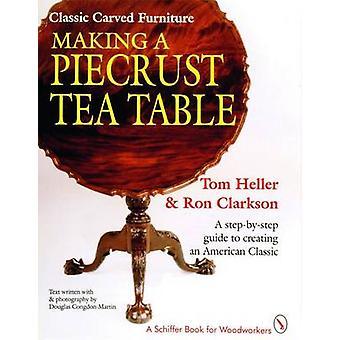 Dokonywanie stolik herbaty Piecrust przez T. Heller - R. Clarkson - 978088740616