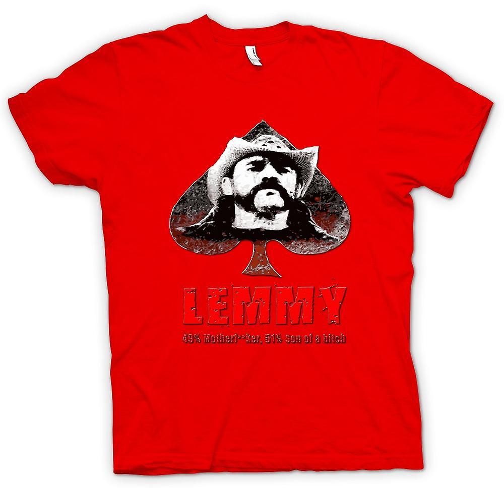 Mens t-shirt-Lemmy - Motorhead - 49% madre * *