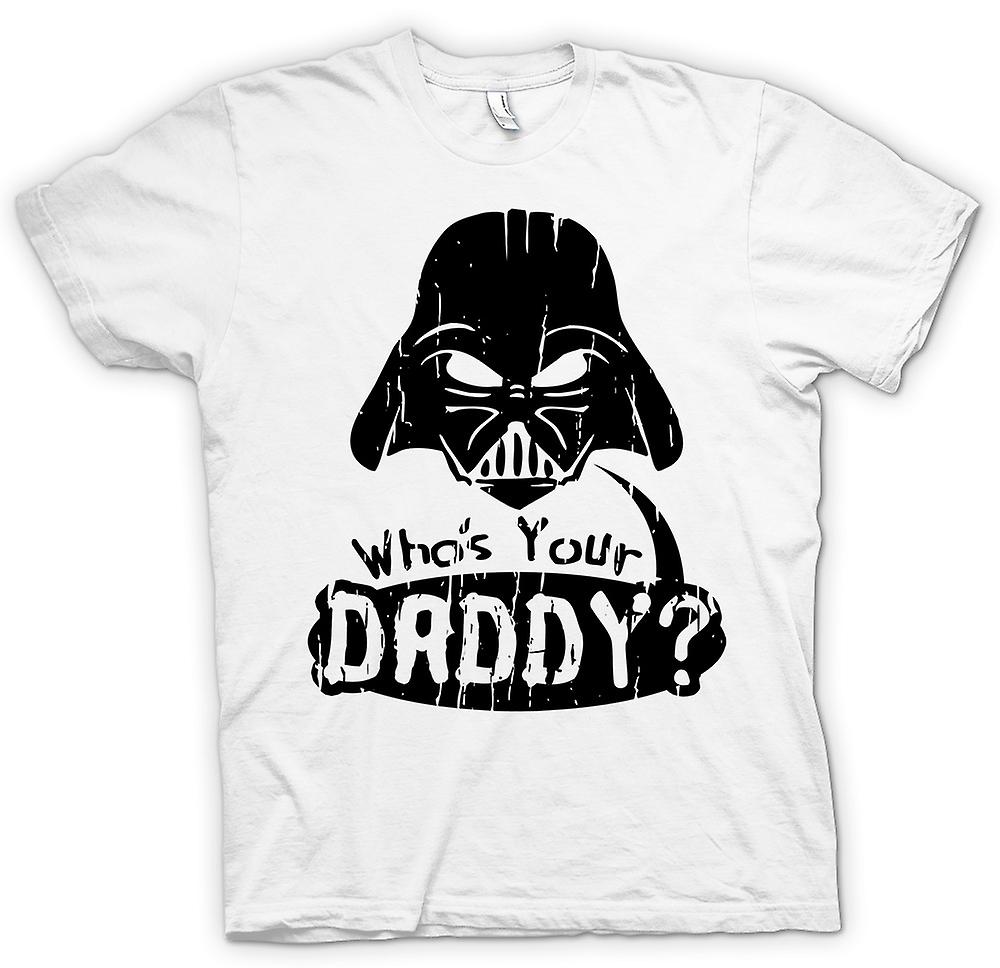 Womens T-shirt - Who's Your Daddy - Funny Darth
