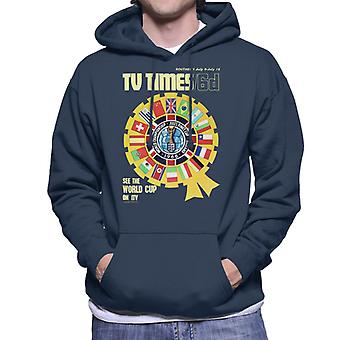 TV Times 1966 World Cup Cover Men's Hooded Sweatshirt